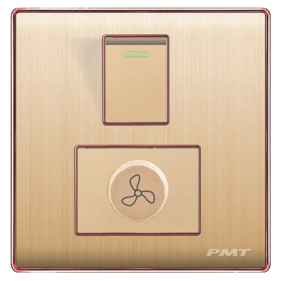 PMT Fan Dimmer Gold